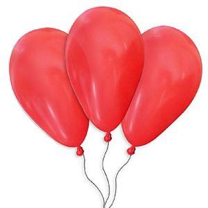 Balão de Látex São Roque 9' com 50 Unidades Vermelho Quente - 1 Pacote