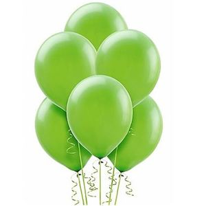 Balão de Látex São Roque 9' com 50 Unidades Verde Maça -
