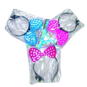 Tiara Elétrico de Neon Minnie para Festas Cores Sortidas 0Unidade.
