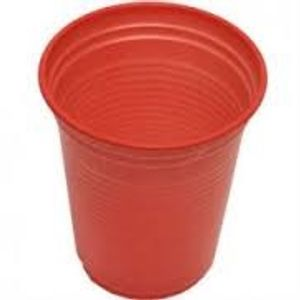 copo vermelho 200 ml c/50 UNIDADES