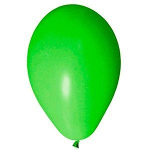 Balão de Látex Para Festas Liso Verde Limão c/50 Unidades -