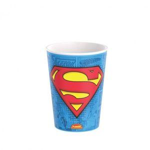Copo de Plástico 320 ml Superman-Branco -Unidade
