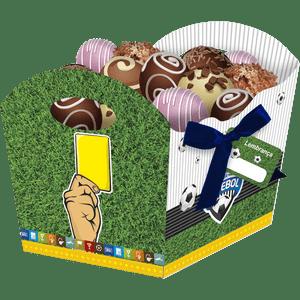 Cachepot Médio Apaixonados por Futebol 8 unidades