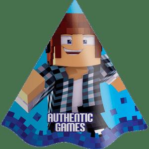 Chapéu Authentic Games 8 unidades