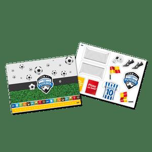 Kit Painel Decorativo Apaixonados por Futebol