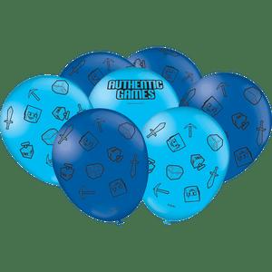 Balão de Latex n°9 Authentic Games 25 unidades