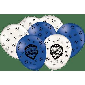 Balão de Latex n°9 Apaixonados por Futebol 25 unidades