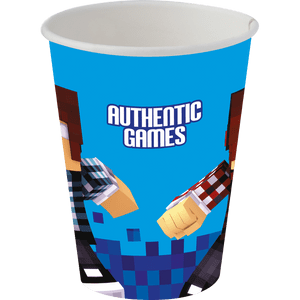 Copo de Papel 200ml Authentic Games 8 unidades