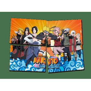 Painel 4 Laminas Naruto 126cmx88cm