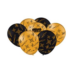 Balão de Latex n°9 Naruto 25 unidades
