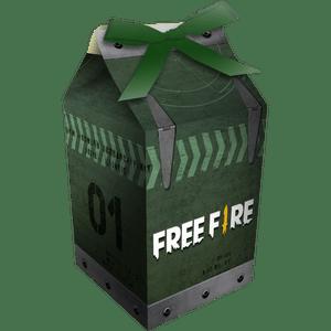 Caixa Milk Free Fire 8 unidades