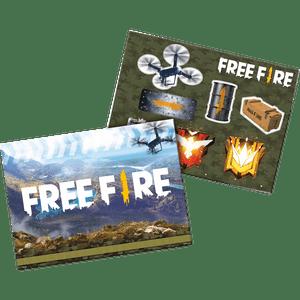 Kit Painel Decorativo Free Fire