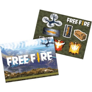 Kit Painel Decorativo Free Fire