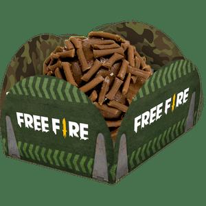Porta Forminha Free Fire 40 unidades