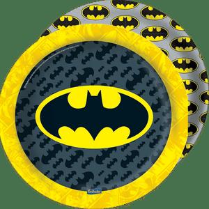 Prato de Papel Rígido Batman - 08 unidades