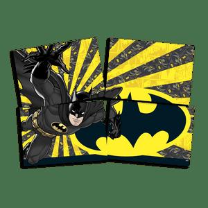 Painel 4 Lâminas Batman 126cmx88cm