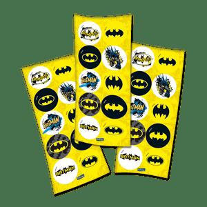 Adesivo Batman - 30 unidades