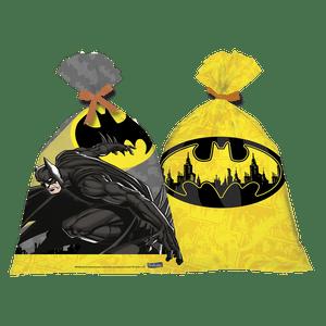 Sacola Plástica Batman - 08 unidades
