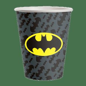 Copo de Papel 200ml Batman - 08 unidades