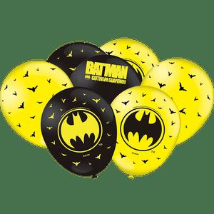 Balão de Latex n°9 Batman - 25 unidades