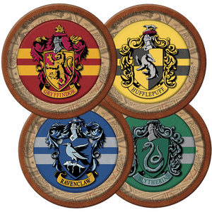 Prato de Papel Rígido Harry Potter 8 unidades