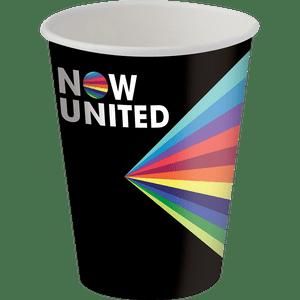 Copo de Papel 200ml Now United 8 unidades