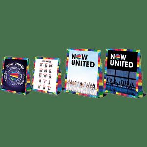 Decoração de Mesa Now United 4 unidades