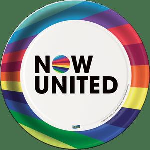 Prato de Papel Rígido Now United 8 unidades