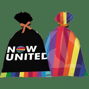 Sacola Plástica Now United 8 unidades