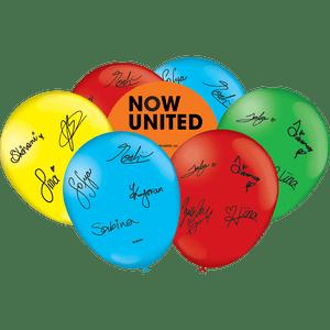 Balão de Latex n°9 Now United 25 unidades