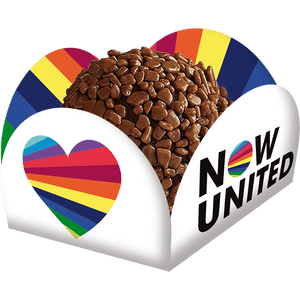 Porta Forminha Now United 40 unidades