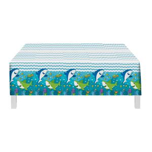 Toalha Plástica Fundo do Mar