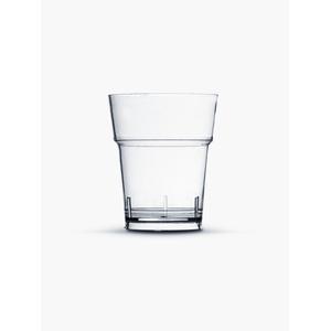 Copo Pic 010 de Acrílico com 50 Unidades Cristal