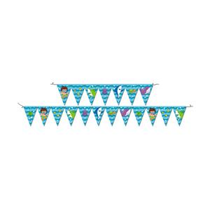 Faixa Feliz Aniversário Fundo do Mar