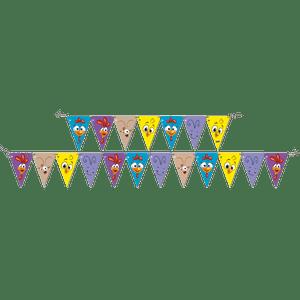 Faixa Feliz Aniversário Galinha Pintadinha