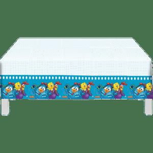 Toalha Plástica Galinha Pintadinha