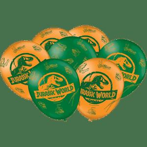 Balão de Latex n°9 Jurassic World 25 unidades