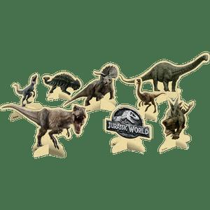 Decoração de Mesa Jurassic World 4 unidades