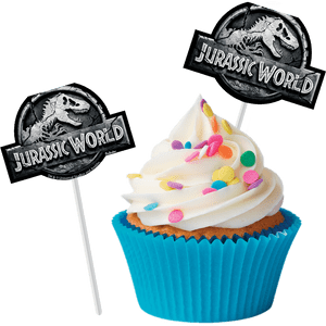 Bandeirinha para Doce Jurassic World 8 unidades
