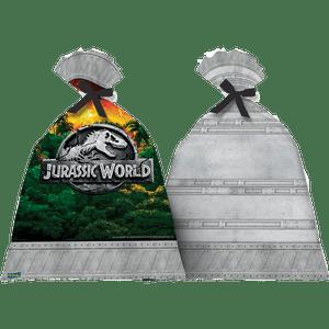 Sacola Plástica Jurassic World 8 unidades