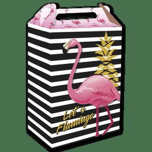 Caixa Surpresa Flamingo 8 unidades
