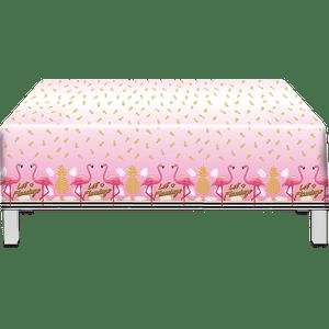 Toalha Plástica Flamingo