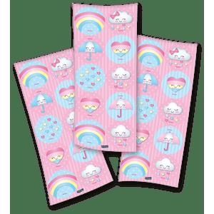 Adesivo Chuva de Amor - 30 unidades