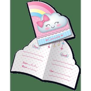 Convite Chuva de Amor - 08 unidades