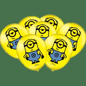 Balão de Latex n°9 Minions 25 unidades
