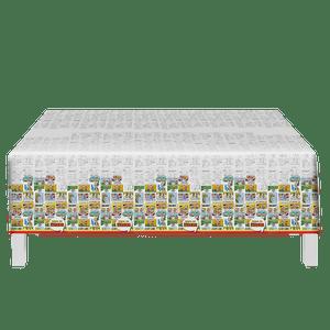 Toalha de Mesa Plástica Turma da Mônica
