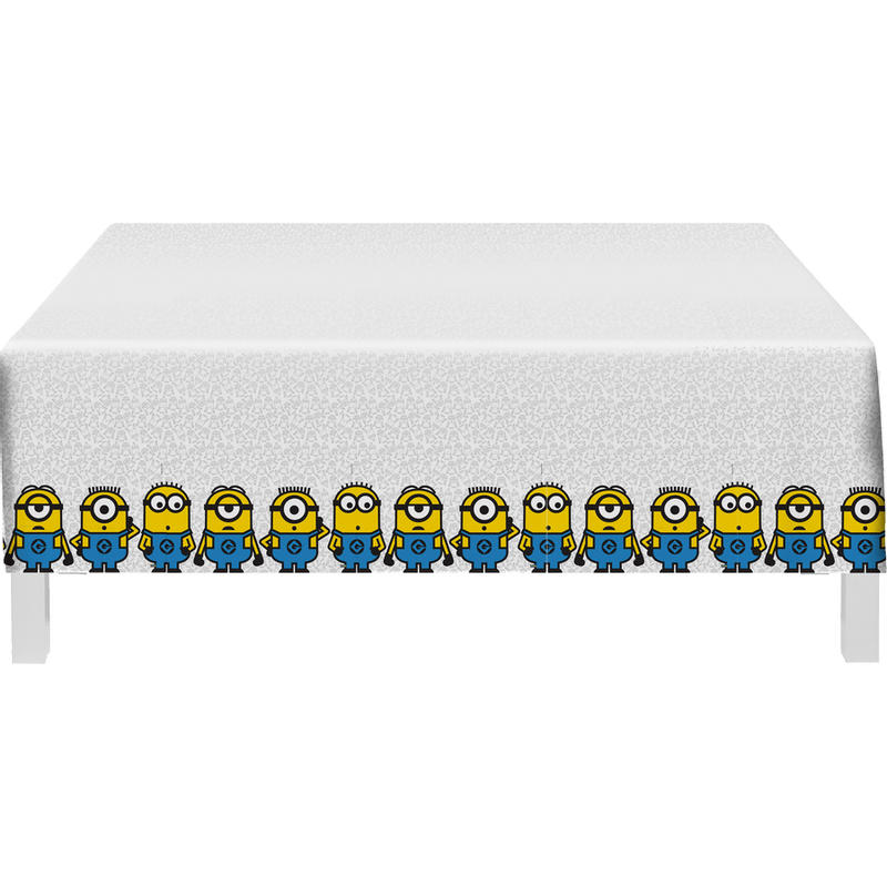 Minions.ToalhaPlastica
