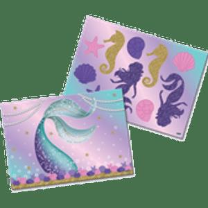 Kit Painel Decorativo Sereia