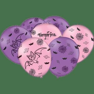 Balão de Latex n°9 Vampirina 25 unidades