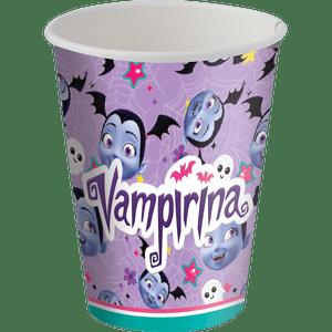 Copo de Papel 200ml Vampirina 8 unidades